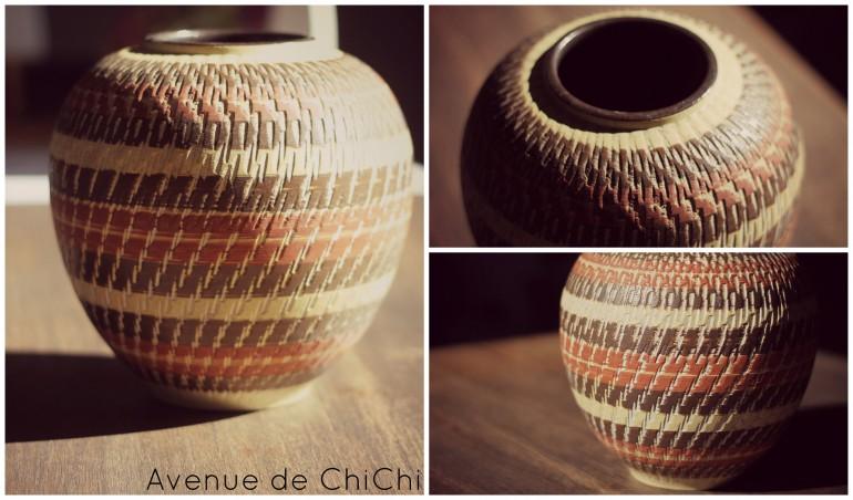 Collage Vase