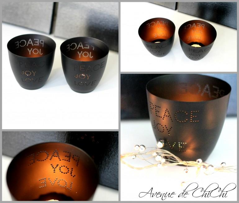 Collage Teelichter