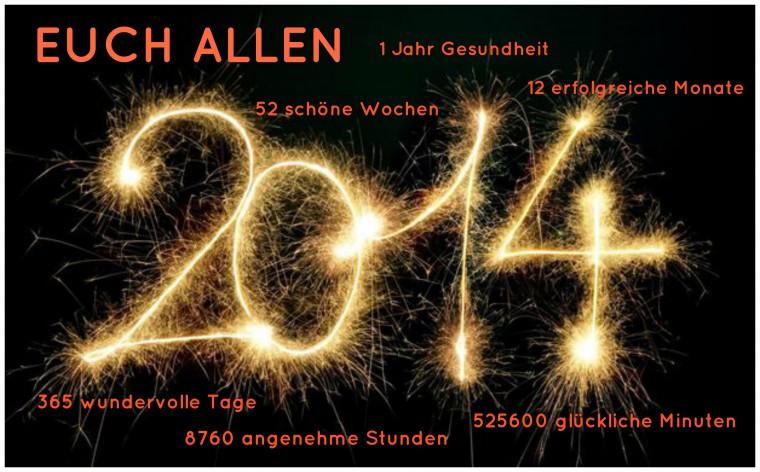 Nur die besten Wünsche für das neue Jahr - Avenue de ChiChi