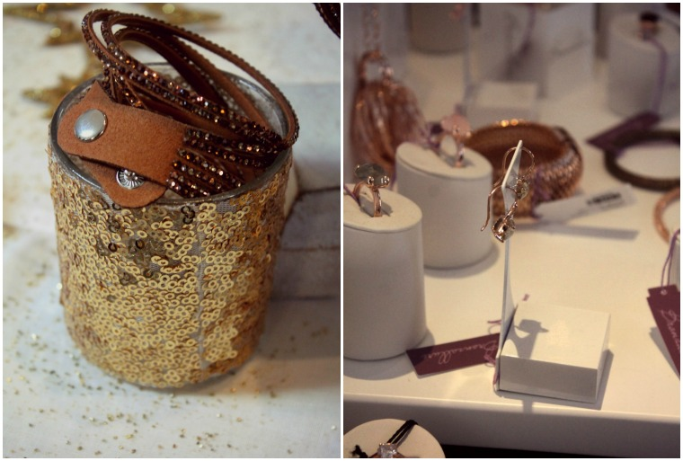 Collage V Armband und Bronzallure